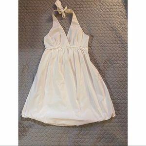 BCBGMaxAzria Halter Bubble Dress